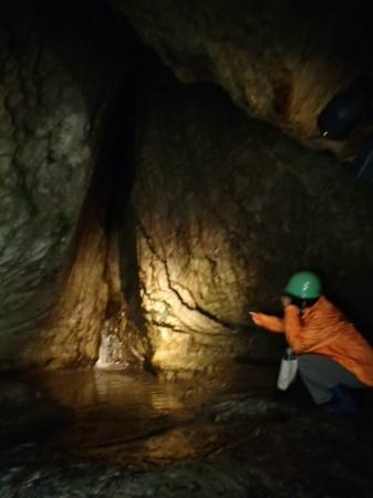 Sumita-cho, Japan: 地底にある滝です
