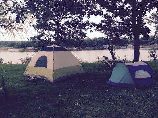 Marseilles, IL: Camping and Cycling