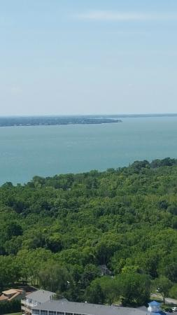 BayShore Resort: From atop Perry's monument