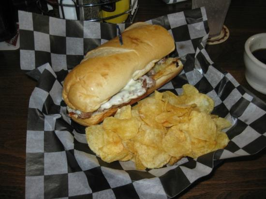 Streetcar Kitchen and Pub: The Awesome Philly Sandwich