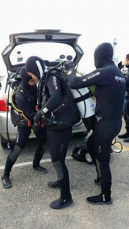 Extreme Watersport: Gearing up