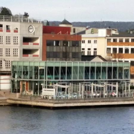 glass brasserie og bar: Glass