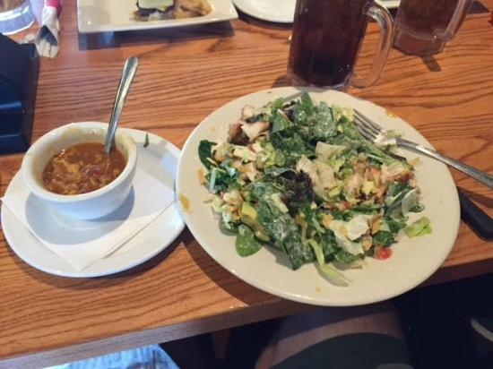 Chili's: Chicken Salad and Southwest Chicken Soup