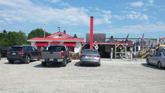 Down East Lobster Company: Upper Deck for great eating
