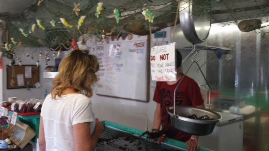 Down East Lobster Company: pick your own Lobster