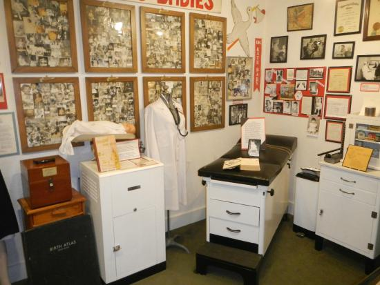 Woodruff, WI: Replica of Dr. Kate's exam room