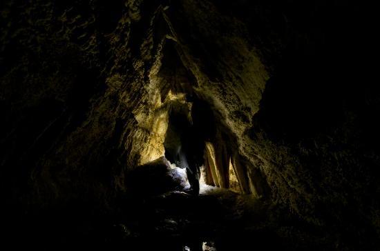 Wairoa, New Zealand: Inside the caves
