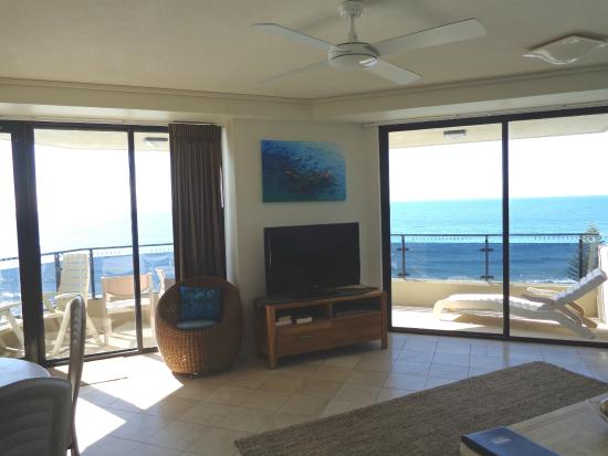 Coolum Beach, Australien: Our lounge room with view