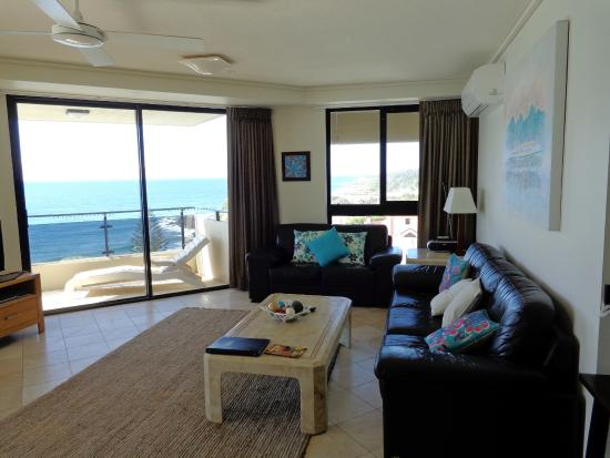 Coolum Beach, Australia: Our lounge room with view