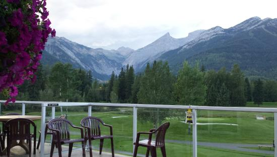 Fernie, Canadá: View from dining room