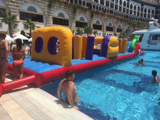 Inflatable Pool Game Picture Of Crystal Sunset Luxury