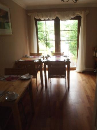 Burntree House Bed & Breakfast : Dining room