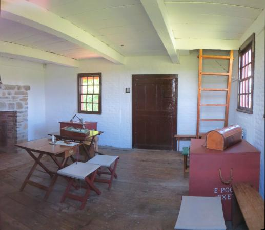 Saratoga National Historical Park: Neilson House Interior