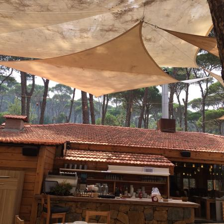 Jezzine, Líbano: Restaurant views