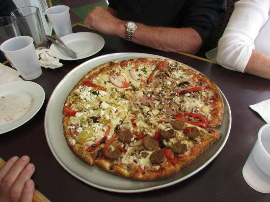 Bocelli's Pizzeria: House Special  will not know what you get but can tell them what you do not want ...