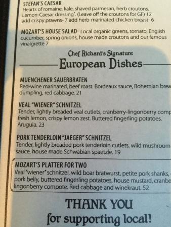 Mozart's Steakhouse: photo0.jpg