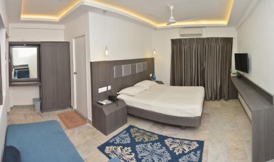 Hotel Mamalla Heritage : Deluxe Room