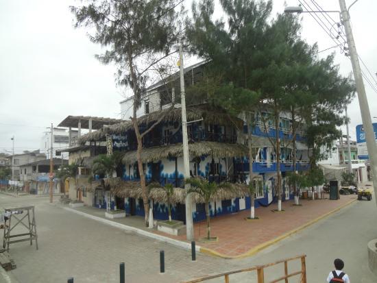 Hostal Brisa Marina: Hotel desde la rambla