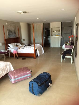 Hotel Tropicana: Chambres junior suite familly