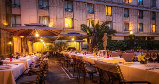 Le Safran : Terrasse