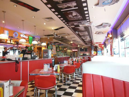 The entrance. - Picture of JB\'s American Diner, Brighton - TripAdvisor