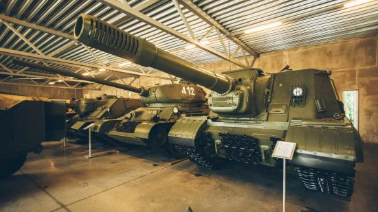 Svente Manor and the Museum of Military Vehicles
