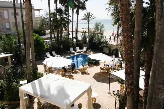 Playa o piscina hotel ciutat jardi tripadvisor for Hotel ciudad jardin