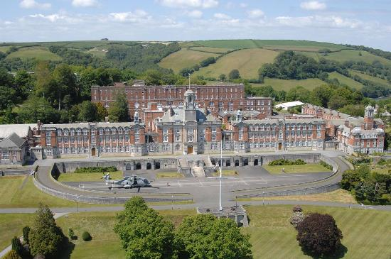 ‪Britannia Royal Naval College‬