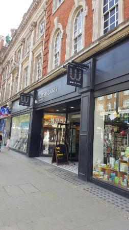 Waterstones Bookshop