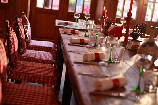 La Winstub du Chambard : Salle de restaurant