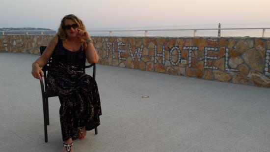 New Hotel Blu Eden: IL TERRAZZO SOLARIUM DELL'HOTEL BELLISSIMO