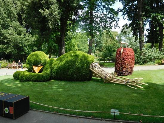Le caprette del giardino photo de jardin des plantes for Restaurant jardin des plantes nantes