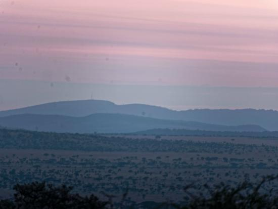 Serengeti Sopa Lodge: Sunrise from our room