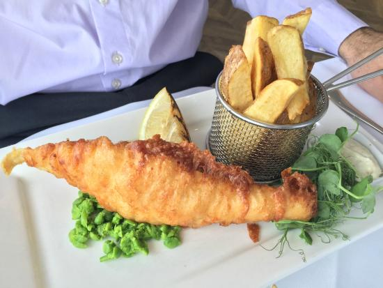 Harbourside Restaurant: Fish and Chips