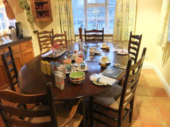 Sutton St Nicholas, UK: Breakfast Room