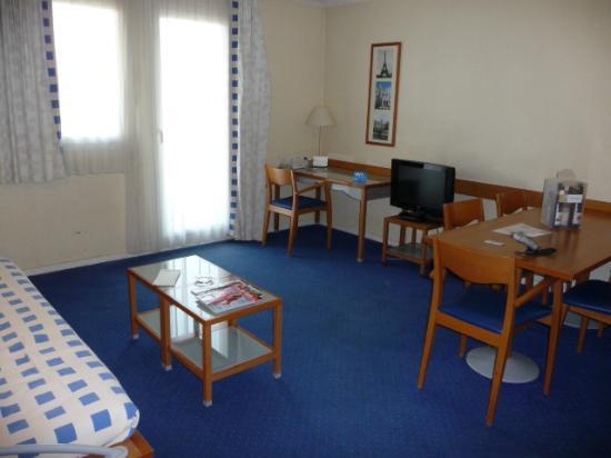 Aparthotel Adagio La Defense Kleber: リビングルーム
