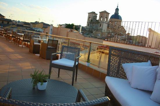 Terraza Picture Of Hotel Casa Urbana Adolfo Toledo