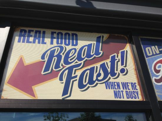 Pat and Kevin's on the Square : Real Food Real Fast - When We're Not Busy