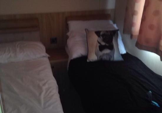 Parkdean Resorts - Romney Sands Holiday Park: Platinum caravan ? Tiny toilet but clean enough