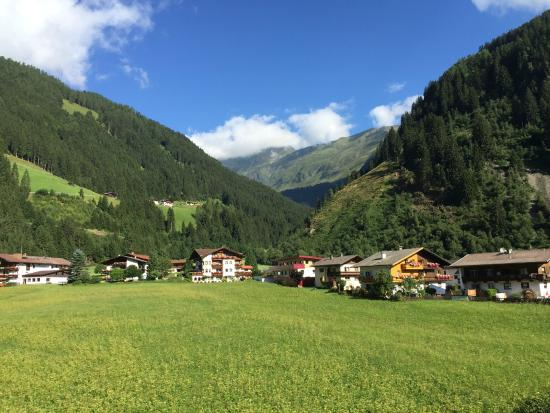 Alpenhotel Kindl: The view from our balcony