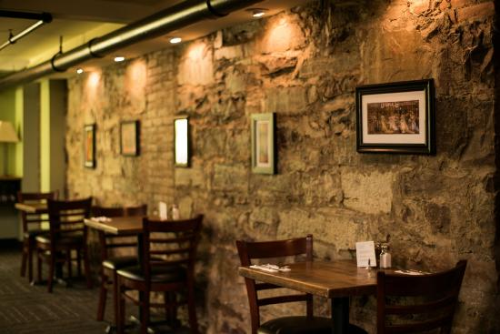 Pascolo back dining room with stone wall picture of pascolo pascolo ristorante pascolo back dining room with stone wall sxxofo