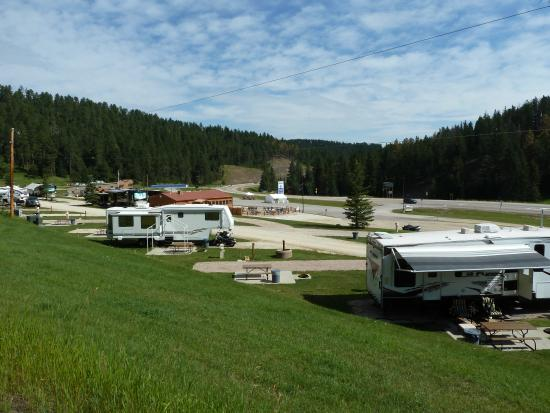 Hidden Valley Campground : Beautiful setting located on US 385