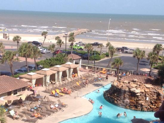 Hilton Galveston Island Resort: View from our room