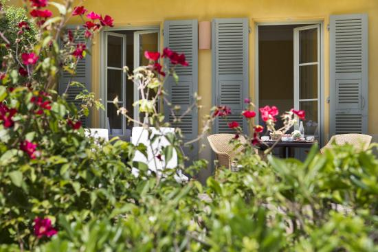 Hotel Royal-Riviera: Deluxe room Orangerie terrace