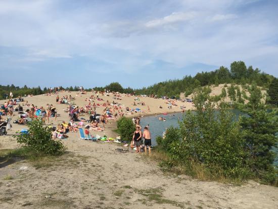 Ekero, Sweden: Den Blå Lagunen