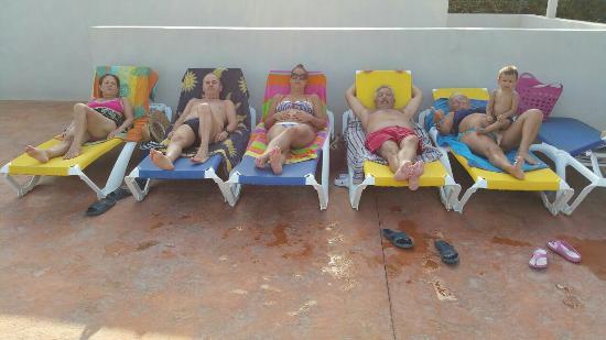 Camping La Bella Vista: Que buenas vacaciones y todo a pie de playa