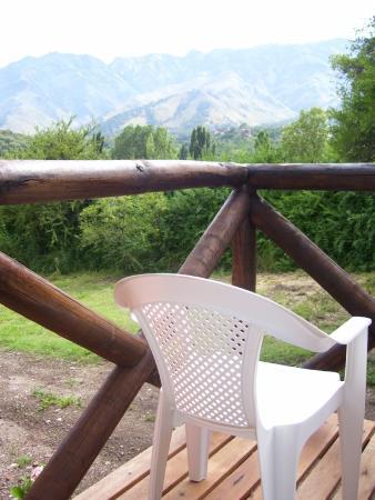 Altos del Sol - Spa & Resort: Vista de las sierras desde la habitación