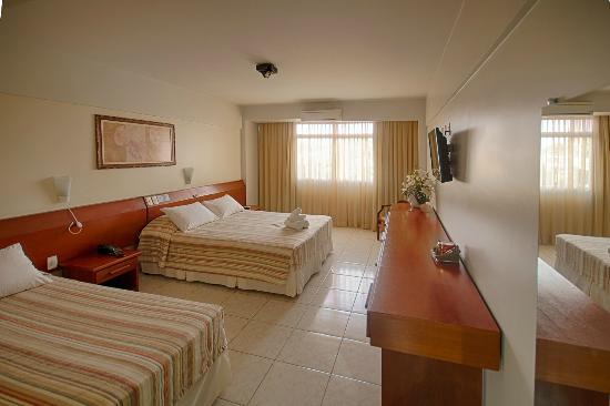 Foz Presidente Comfort: Apartamento triplo Luxo