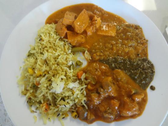 India Darbar : Primeiro prato do buffet
