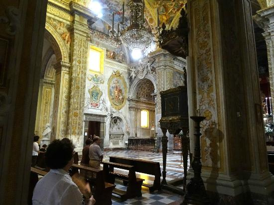 Acireale, Ιταλία: Interno Duomo